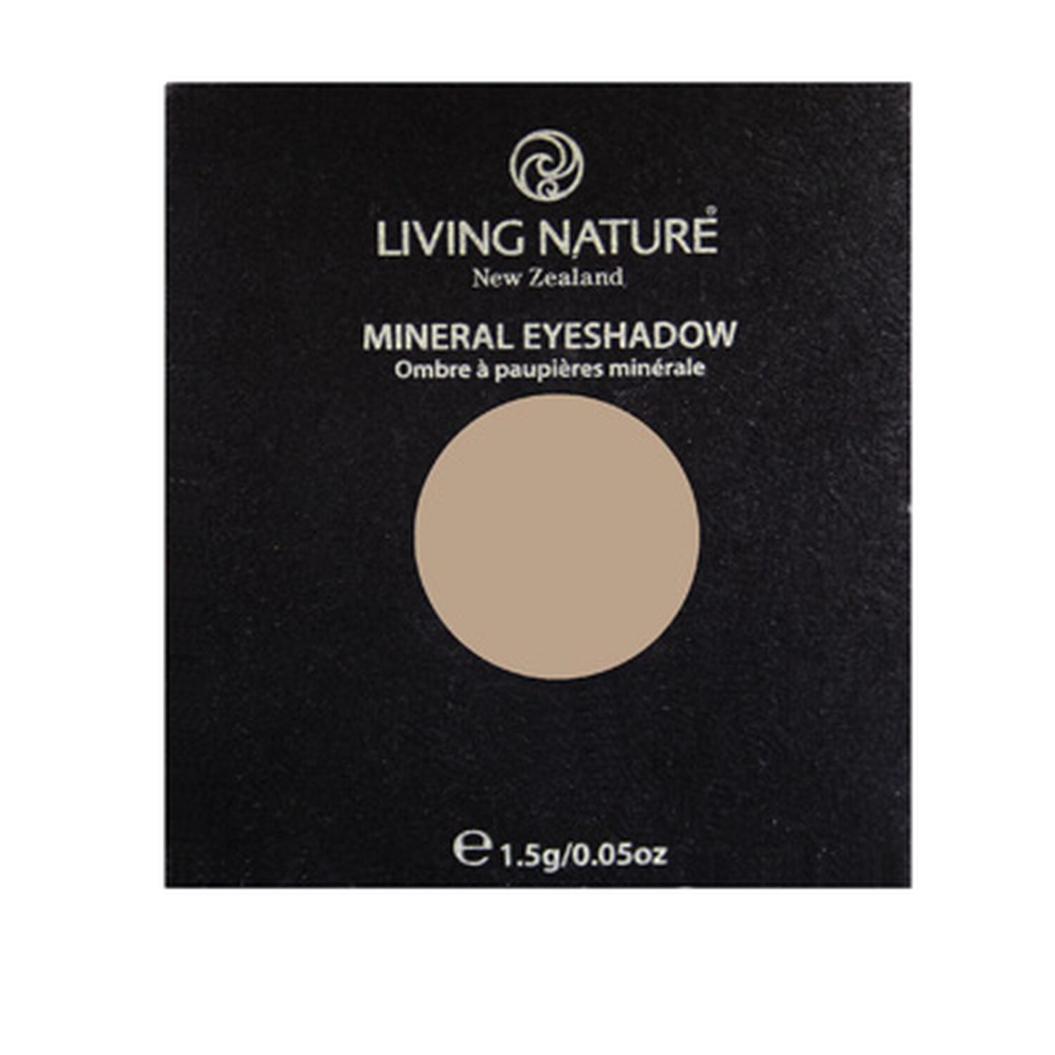 Living Nature - Eye Shadow Lidschatten - Sand 1,5g