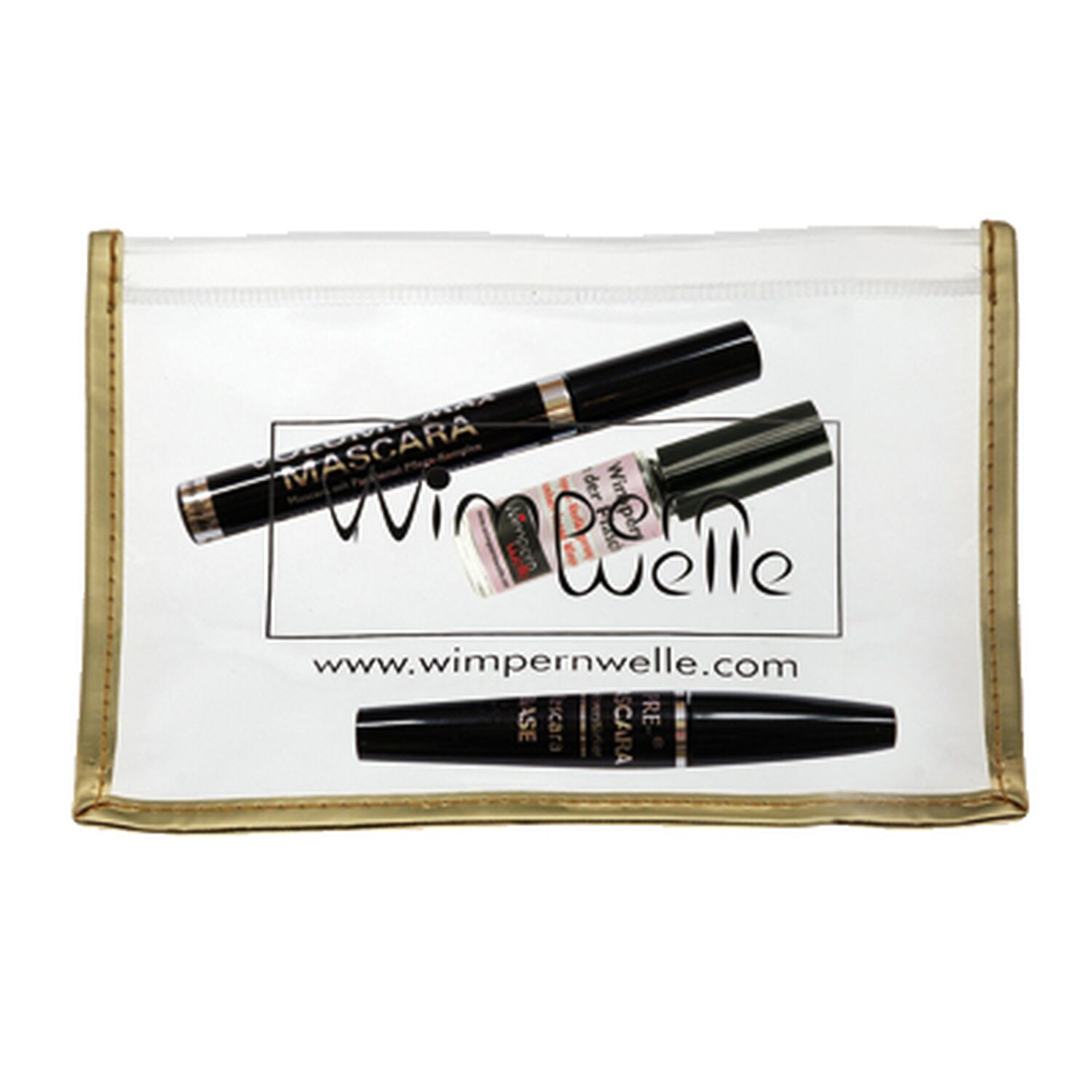 Wimpernwelle - Wimpern Set 3tlg, - 2 Mascara, Wimpern in der Flasche