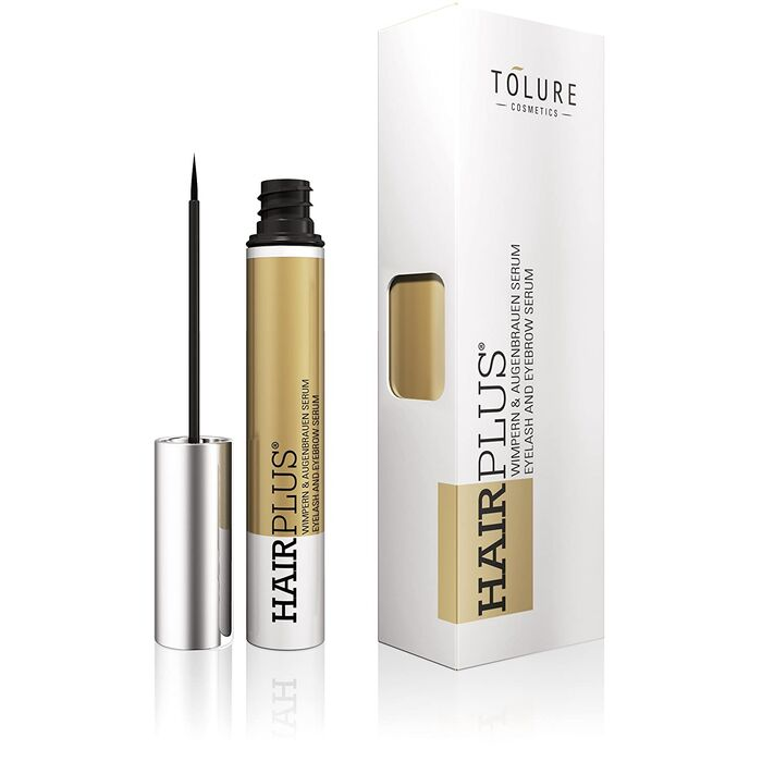TOLURE Cosmetics - Hairplus Wimpern & Augenbrauen Intensivierungsfluid - 3ml
