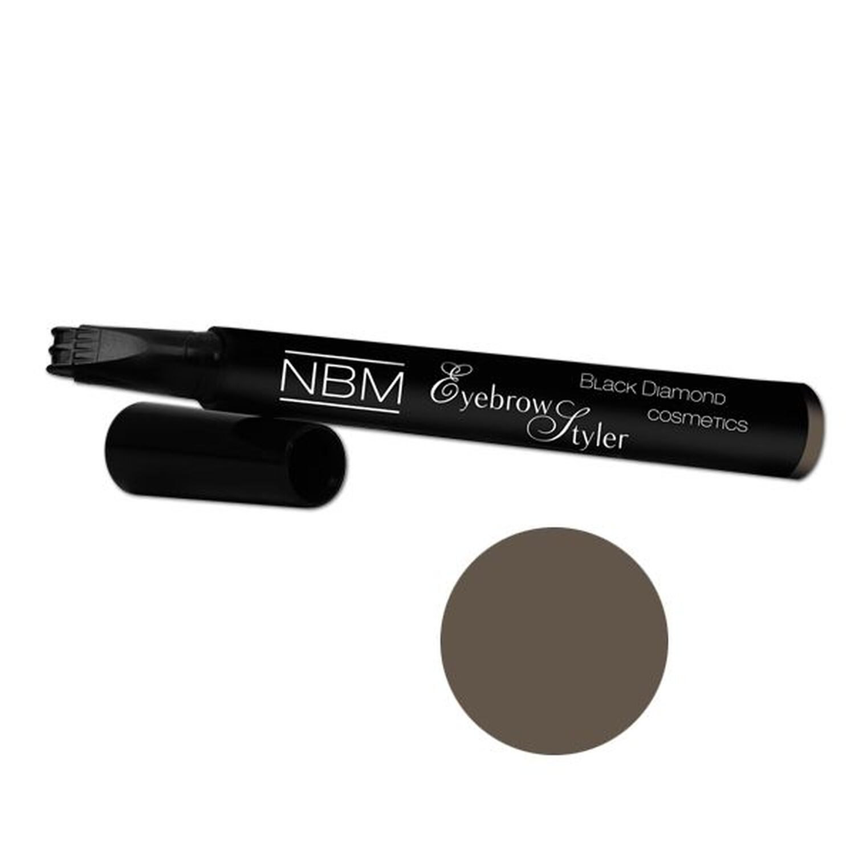 NBM BDC Eyebrow Styler dark brown 2ml