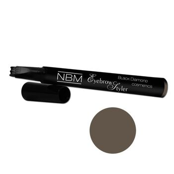NBM - BDC Eyebrow Styler dark brown - 1,5ml