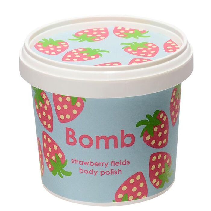 Bomb Cosmetics - Körperpeeling Strawberry Fields Body Polish - 375g