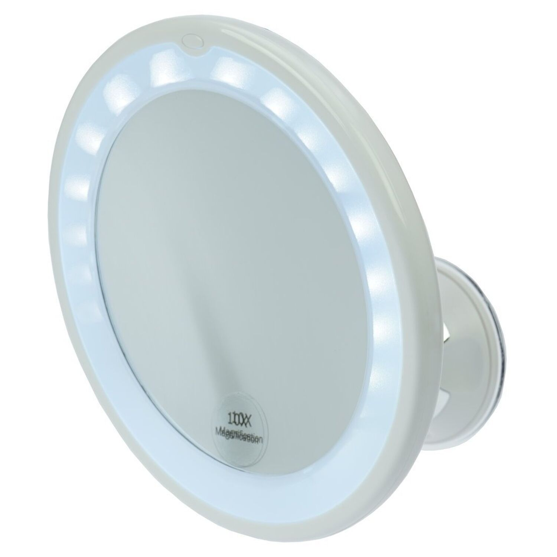 davartis kosmetik spiegel mit saugnapf led beleuchtung. Black Bedroom Furniture Sets. Home Design Ideas