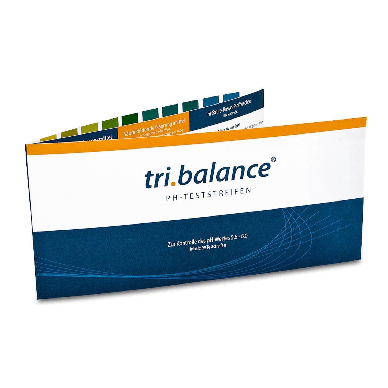 tri.balance pH-Teststreifen 99 Stück - schnelles Testergebnis 07252236