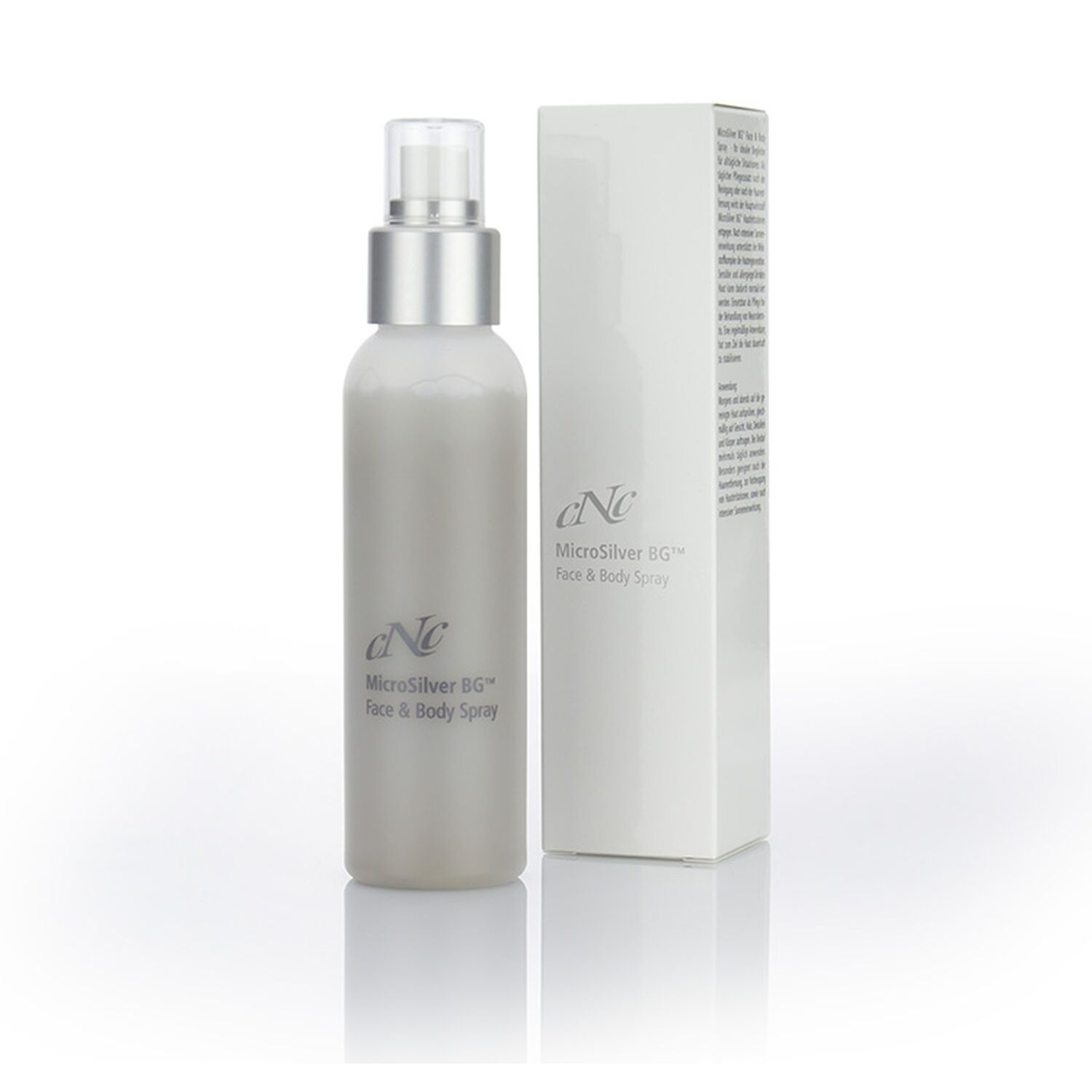 CNC Cosmetic - MicroSilver Face & Body Spray - 100ml