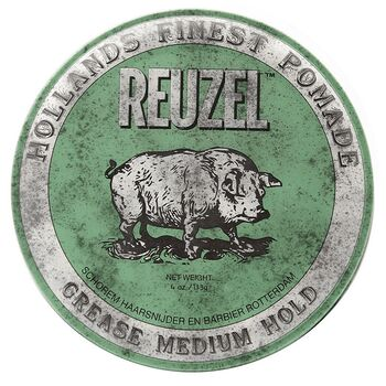 Reuzel Finest Pomade Grease Grün 35g