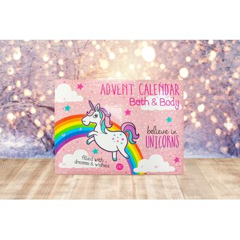 Adventskalender Bath & Body Einhorn / Believe in Unicorn...