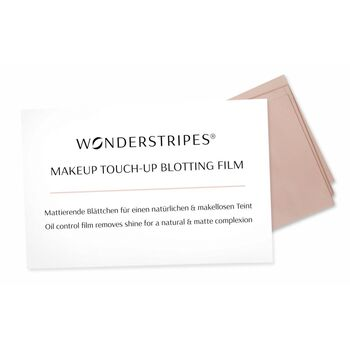 Wonderstripes Make-up Touch-up Blotting Film 30 Stk.