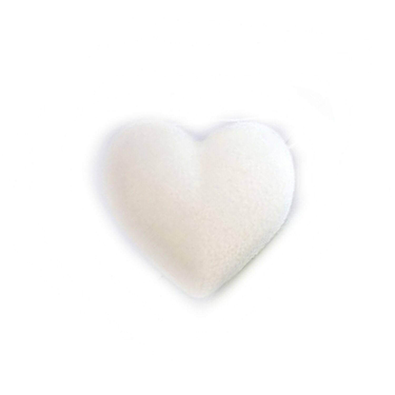 Konjac Schwamm Pur in Herzform - für alle Hauttypen 3521