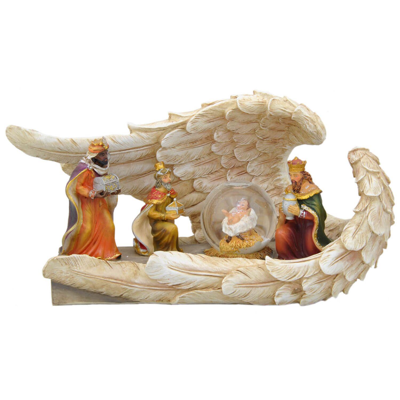 davartis  heilige 3 könige  deko mit schneekugel