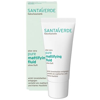 Santaverde - Pure Mattifying Fluid - 30ml ohne Duft
