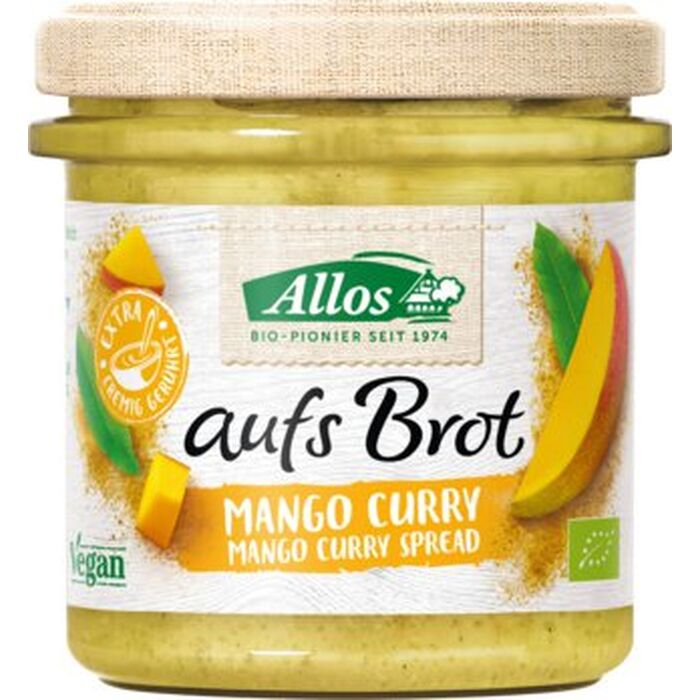Allos - aufs Brot Bio Mango Curry - 140 g