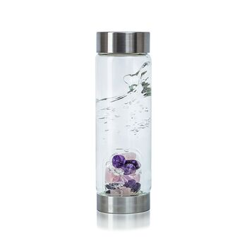 VitaJuwel - ViA Wellness 500ml - Bergkristall, Amethyst,...