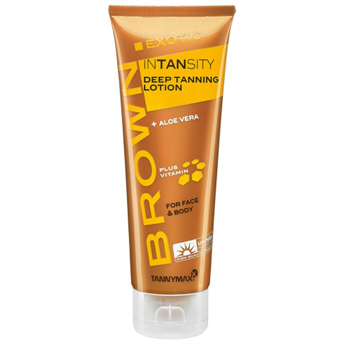 TannyMaxx Brown - Exotic Intansity Deep Tanning Lotion 125ml