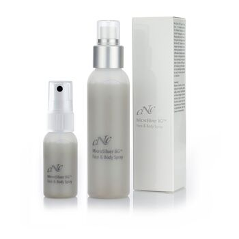 CNC Cosmetic - MicroSilver Face & Body Spray - 100ml + 30ml
