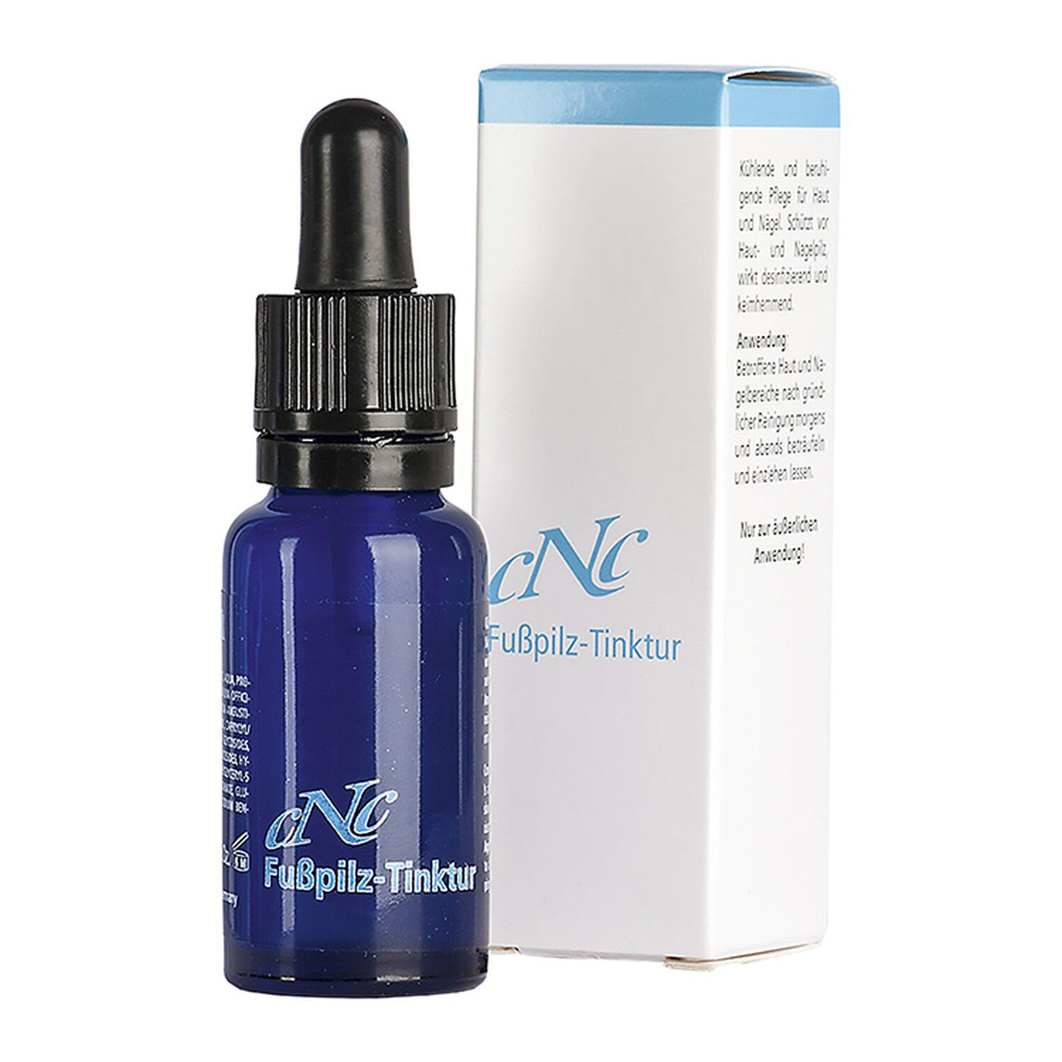 CNC Cosmetic - Fusspilz-Tinktur 20ml - Menthol, Salbei 106006