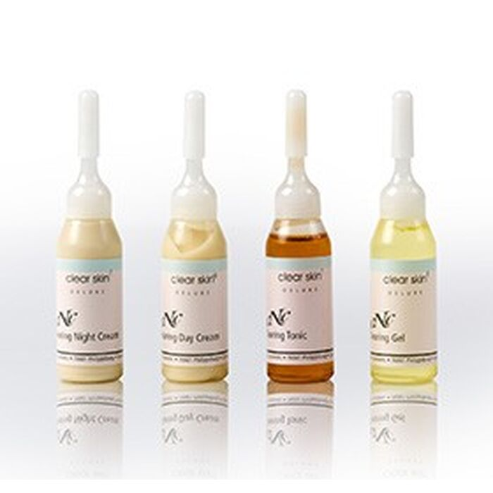 CNC Cosmetic - Clear Skin Clearing Test Set - 4x10ml