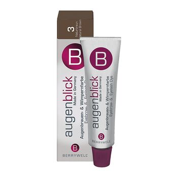 Berrywell Wimpernfarbe #3 Naturbraun 15ml