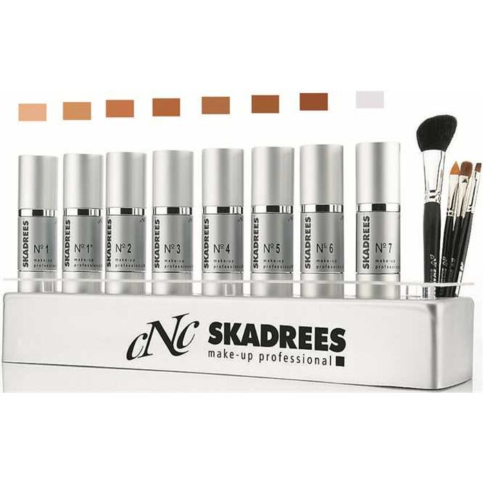 CNC Cosmetic - Skadrees - Make-Up Fluid Nr. 6 - sehr dunkel - 30 ml